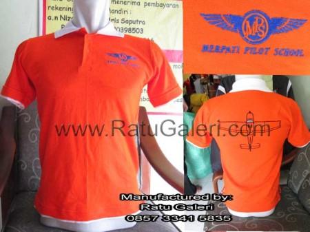 Polo Shirt Merpati Pilot School